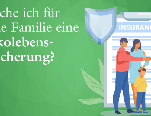 Brauche ich für meine Familie eine Risikolebensversicherung?